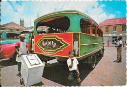GRENADA, WEST INDIES. Local Bus Ansd Ice Cream Vendor In St George's - Grenada