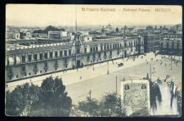 Cpa Du Mexique Mexico  --  El Palacio Nacional -- National Palace   BB18 - Mexique
