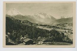 Berchtesgaden-Obersalzberg Gegen Süden, 1922. Kleinformat - Berchtesgaden