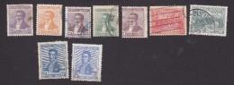 Argentina, Scott #215-223, Used, Laprida, Declaration Of Independence, Jose De San Martin, Issued 1916 - Used Stamps