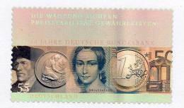 Münzen Bundesbank Hologramm Aus EURO-Jahrbuch 2007 ** 80€ Schwarzdruck-Block 2618 SD 30 Bloc Coin Black Sheet Bf Germany - 100 Deutsche Mark