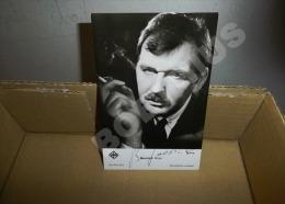 VERITABLE AUTOGRAPHE DE BERNHARD WICKI CARTE PHOTO UFA FILM 9 X 14 Cm - Autographes