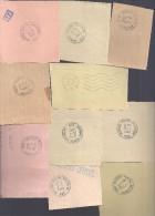 Lot De 25 Oblitérations De BPM, Bureaux Postal Militaire, Obliterations Différentes, Voir Photos - Precancels