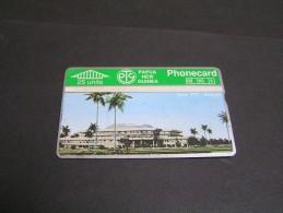 PAPUA 1992 25u Haus Bidg; - Papua New Guinea