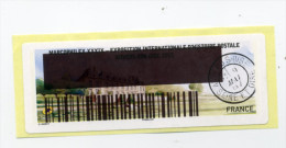 2015 LISA 2 MARCOPHILEX XXXIX AUVERS SUR OISE / TEST IMPRIMANTE Code Barres - 2010-... Illustrated Franking Labels