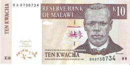 Malawi - Pick 43b - 10 Kwacha 2003 - Unc - Malawi