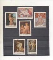 ROUMANIE - Art - Peintures - Nus Célèbres - Tableaux  De Pallady, Marco Libéri, Tonitza, Etc.. - - 1948-.... Républiques