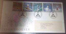 GB 1998 LIGHTHOUSES FDC SG 2034-38 MI 1742-46 SC 1804-08 IV 2031-2035 - 1952-.... (Elizabeth II)