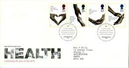 GB 1998 HEALTH FDC SG 2046-49 MI 1754-57 SC 1814-17 IV 2043-2046 - 1952-.... (Elizabeth II)