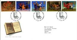 GB 1998 CHILDREN'S FANTASY NOVELS FDC SG 2050-54 MI 1758-62 SC 1820-24 IV 2047-2051 - 1952-.... (Elizabeth II)