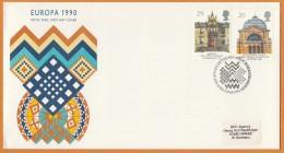 Great Britain UK 1990 Europa Cept FDC - Europa-CEPT