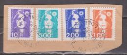 FRANCIA. MARÍANNE DU BICENTENAIRE. FRAGMENTO USADO - USED. - 1989-96 Maríanne Du Bicentenaire