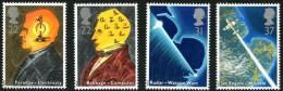 GB 1991 SCIENCE SET OF 4 SG 1546-9 MI 1320-23 SC 1360-63 IV 1526-1529 - 1952-.... (Elizabeth II)