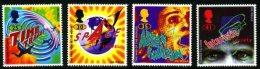 GB 1995 SCIENCE FICTION SET OF 4 SG 1878-81 MI 1576-79 SC 1616-19 IV 1822-1825 - 1952-.... (Elizabeth II)