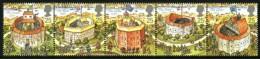 GB 1995 SHAKESPEARE SET OF 5 SG 1882-86 MI 1580-84 SC 1620-24 IV 1826-1830 - 1952-.... (Elizabeth II)