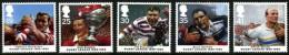GB 1995 RUGBY LEAGUE SET OF 5 SG 1891-95 MI 1591-96 SC 1629-33 IV 1837-1841 - 1952-.... (Elizabeth II)