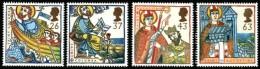 GB 1997 MISSIONS OF FAITH SET OF 4 SG 1972-75 MI 1684-87 SC 1730-33 IV 1942-1945 - 1952-.... (Elizabeth II)