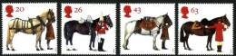 GB 1997 HORSES SET OF 4 SG 1989-92 MI 1701-04 SC 1763-66 IV 1972-1975 - 1952-.... (Elizabeth II)