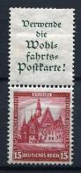 32275) DEUTSCHES REICH Zusammendruck # S 96 Gefalzt Aus 1931, 24.- € - Se-Tenant