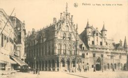 MALINES - La Poste, Les Halles Et Le Musée - Mechelen