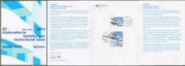 "Bund + Israel: Minister Card - Ministerkarte, Mi-Nr. 3154: "" Weiße Stadt Tel Aviv "" Joint Issue Gemeinschaftsausgabe  !x - Covers & Documents"