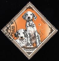MONGOLIA - Scott #1417 Dalmatians / Used Stamp - Mongolia