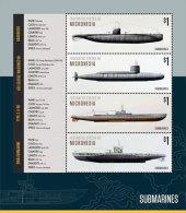 Micronesia-2015-War Ship-Submarines - Zonder Classificatie