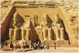EGYPTE - The Temple Of Abu Sembel - ENCH - - Abu Kabir