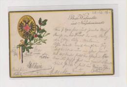 AUSTRIA WW I , Military Official  , Red Cross ROTES KREUZ Nr.319 Nice Postcard - Guerra 1914-18
