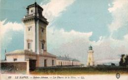 Postcard - Cap De La Heve Lighthouses, France. 63 - Lighthouses