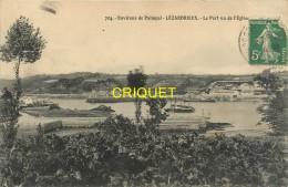 Cpa 22 Lézardrieux, Le Port Vu De L'Eglise, Affranchie 1912 - France
