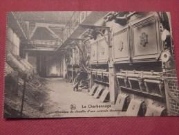 CHARBONNAGE - BELGIQUE -  Chambre De Chauffe D´une Centrale électrique - Mijnen
