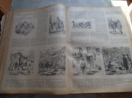 South America - Bilder Von Der Südamerikanische Küste  -  Holzschnitt Gravure 1880  IW1880.148.149 - Estampes & Gravures