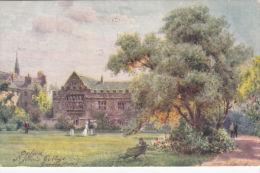 OXFORD - ST JOHNS COLLEGE. TUCK OILETTE. WIMBUSH - Oxford