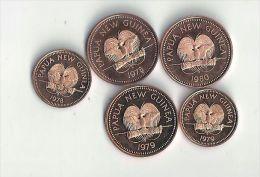 Monnaie Papouasie-nouvelle-guinée :1Toea Et 2Toea - Papouasie-Nouvelle-Guinée