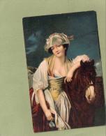 GREUZE  LA LAITIERE - Peintures & Tableaux