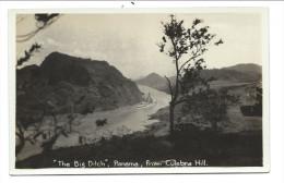"CPA - Amérique - PANAMA - "" The Big Ditch "" - From Culebra Hill   // - Panama"