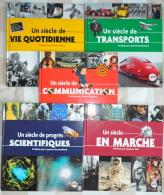 """5 Livres """"Un Siècle De...."""" - Documents De La Poste"""