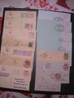 Lot D'entiers Postaux, Carte-lettres, Premiers Jours Et Autres Majorité Belgique Départ 1€ Sans Réserve Voir Photos - Timbres