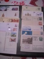 Lot D´entiers Postaux, Carte-lettres, Premiers Jours Et Autres... Départ 1€ Sans Réserve Voir Photos - Timbres