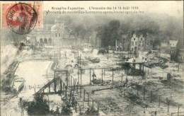 Bruxelles : Panorama De Bruxelles-Kermesse Expo 1910 - Belgium