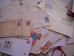 Gros Vrac De Doublons D´entiers Postaux, Carte-lettres, Premiers Jours Et Autres... Départ 1€ Sans Réserve Voir La Photo - Timbres