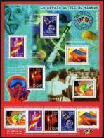"""FR Bloc YT 39 BF """" Le Siècle Au Fil Du Timbre, Sciences """" 2001 Neuf** - Mint/Hinged"""
