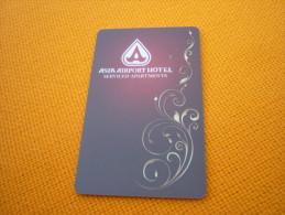 Thailand Pathumthani Asia Airport Hotel Room Key Card - Origine Inconnue