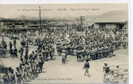 DAKAR - Départ Des Troupes Indigènes - Sénégal