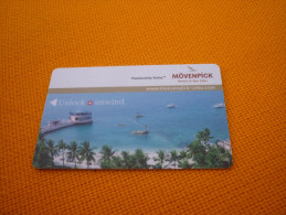 Philippines Cebu Movenpick Hotel Room Key Card - Phonecards