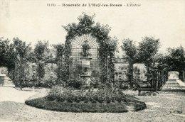 B17159 Roseraie De L'Hay Les Roses, Entrée - Francia