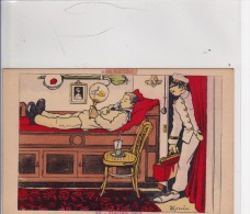 CPA   FLAGRANT DELIT Signé  H. Gerverse - Gervese, H.