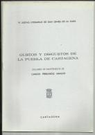 LIBRO CUADERNO GUSTOS Y DISGUSTOS PUEBLA DE CARTAGENA MURCIA ,EDITADO EN 1974,16 PAGINAS .  LIBRO CUADERNO  GUSTOS Y DI - Cultura