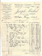 44 ANCENIS     JOSEPH  MICHEL    BOUTEILLES  ET  CLOCHES A  JARDIN   TEL  13 - 1900 – 1949